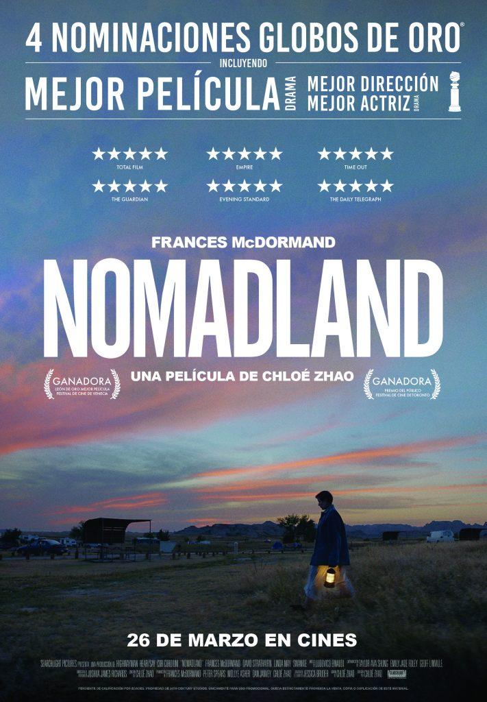 La premiada Nomadland arriba a Ribes