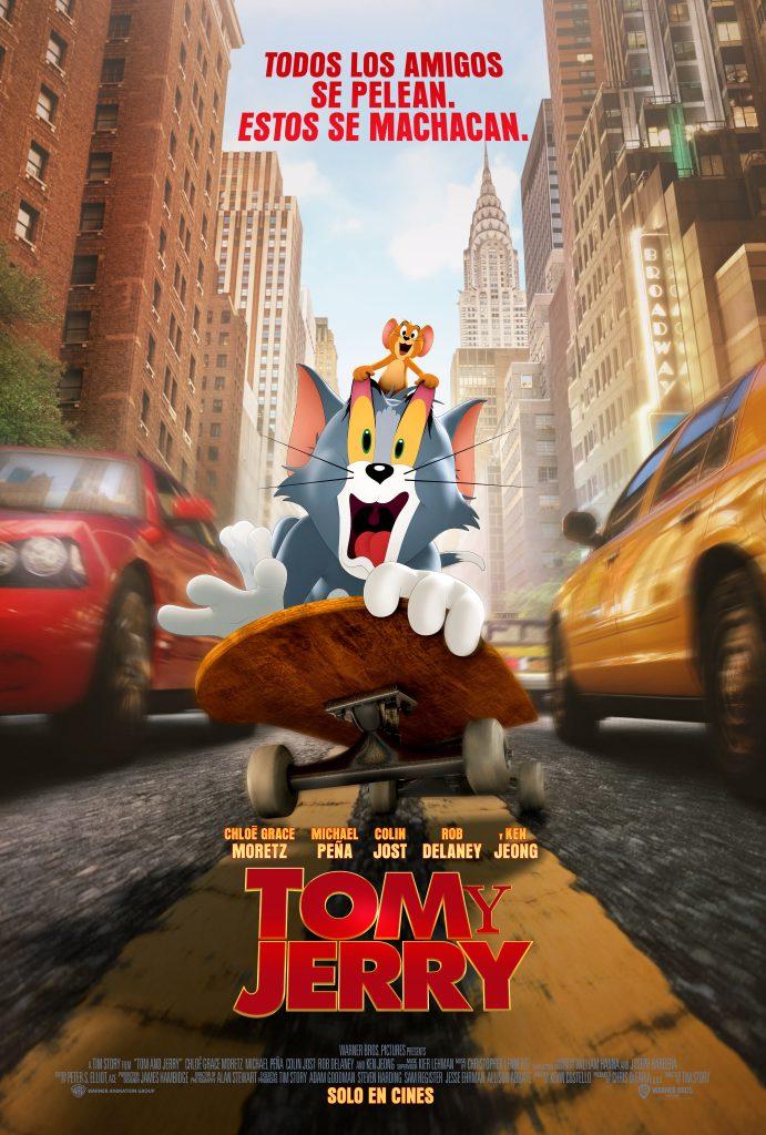 Tom y Jerry arriben al Cinema